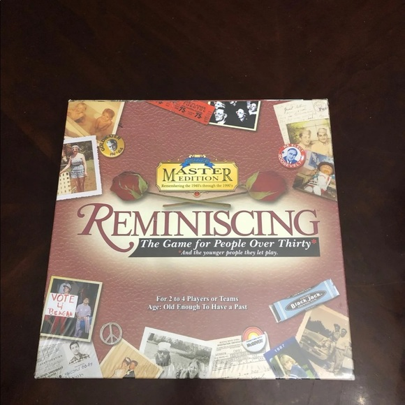 Tcd Games Other - Reminiscing Board Game